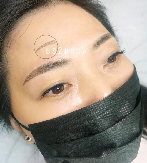 반영구 눈썹 리터치전/탈각후/한달후 후기 (홍대/일산)